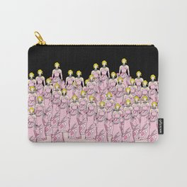 PINK Robot Girls Carry-All Pouch