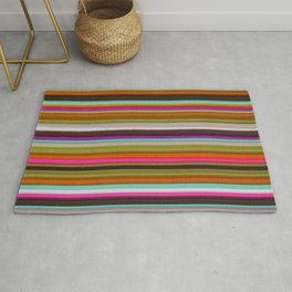 Colored Lines Rug