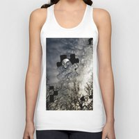 surrealism Tank Tops featuring Sky Surrealism. by Jess Noelle