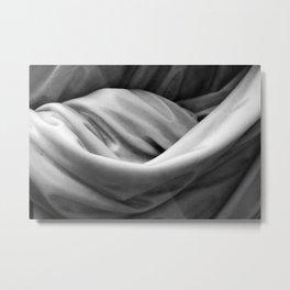 Stone Cloth Metal Print