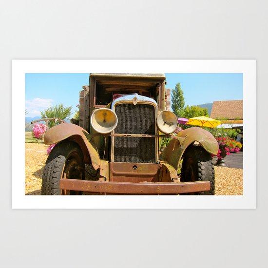 Desert Cafe Art Print