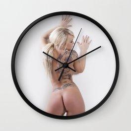 Nude 2011 3 Wall Clock
