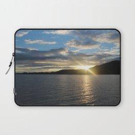 Peeking Sun Laptop Sleeve