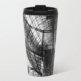 Airship under construction Travel Mug