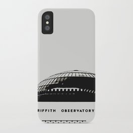 Griffith Observatory LA iPhone Case