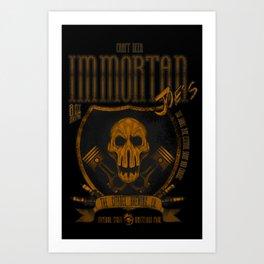 Immortan Joe´s Craft Beer. Art Print