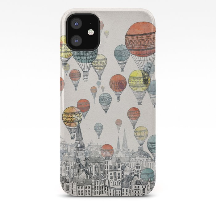 Voyages over Edinburgh iPhone Case