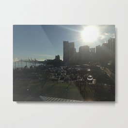 sun rise over vancouver Metal Print