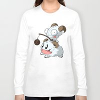 invader zim Long Sleeve T-shirts featuring Invader Poro by HelloTwinsies