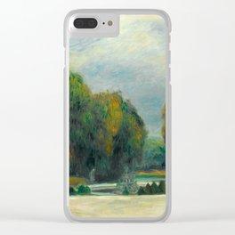 Auguste Renoir Versailles Clear iPhone Case