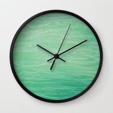 green heaven Wall Clock
