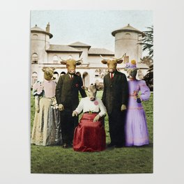 Cowtown Abbey Poster