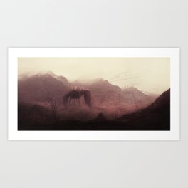 BIRDWALKER Art Print