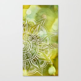 Goldzen Lining Canvas Print