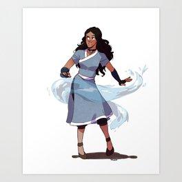 Katara Art Print