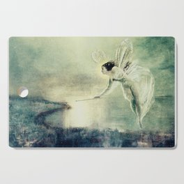 Spirit of the Night by John Atkinson Grimshaw Cutting Board