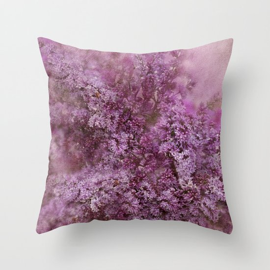 Decorative Pillow Lilac : Lilac Splash Throw Pillow by Svetlana Sewell Society6