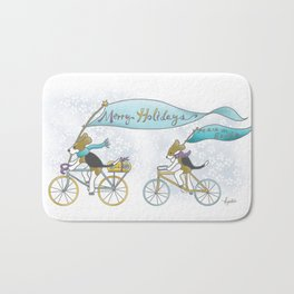 Happy Holidays! Bath Mat