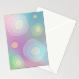 Abstract Gradient No. 9 Stationery Cards