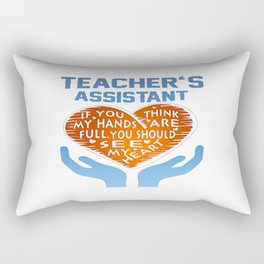 Teacher's Assistant Rectangular Pillow