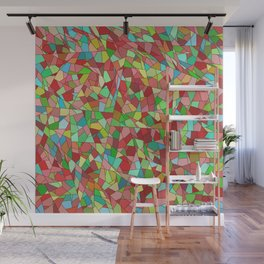 Light stained glass Wall Mural