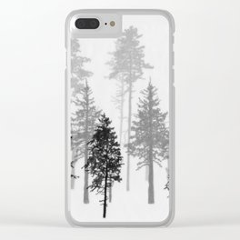 Dark and Deep Clear iPhone Case