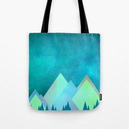 Vivid Mountains Tote Bag