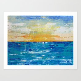 When Your Suntan Fades Art Print