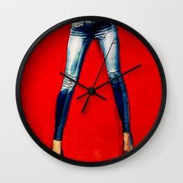 American Woman Wall Clock