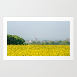 Chichester Cathedral. Art Print
