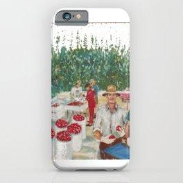 Tomato Growers,Australia             by Kay Lipton iPhone Case