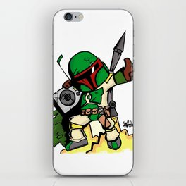 DJ Boba Fett iPhone Skin