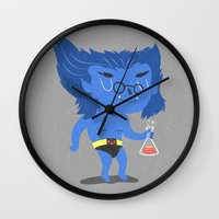 beast Wall Clocks featuring Beast by Rod Perich
