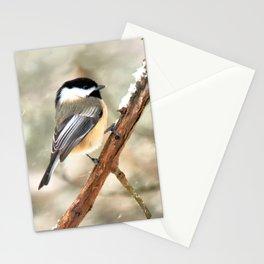 Clinging Chickadee Stationery Cards