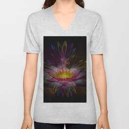 Abstract in perfection 95 Unisex V-Neck