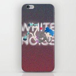 White Noise - digital version iPhone Skin