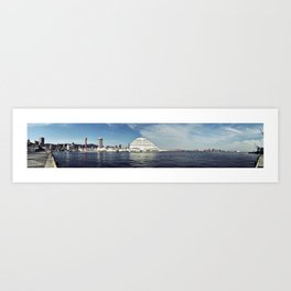 Kobe Port Panorama Art Print
