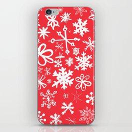 Snowflakes iPhone Skin