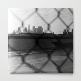 View of Downtown Los Angeles Metal Print