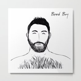 Beard Boy: Stelios Metal Print