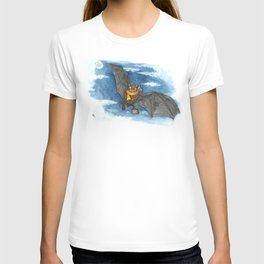 Little Worlds: Travel Bat T-shirt