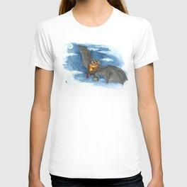 Little Worlds: Travel Bat T-shirt