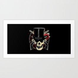 Dust N' Bones Art Print