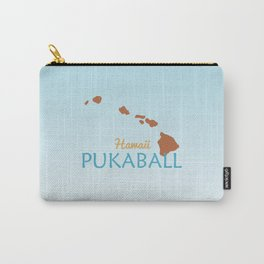 Hawaii Pukaball Carry-All Pouch