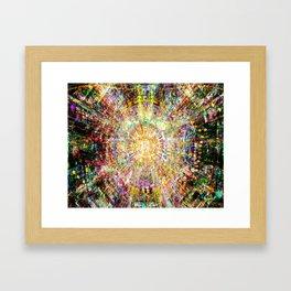 Collider Framed Art Print