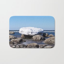 Perched on the Boulders Bath Mat