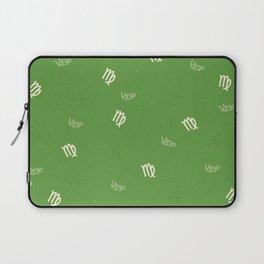 Virgo Pattern - Green Laptop Sleeve