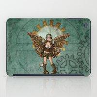 steam punk iPad Cases featuring Steam Punk Pilot Faery by Hafapea