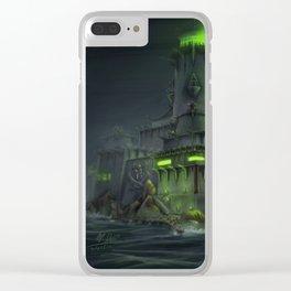 Pirate Base Clear iPhone Case