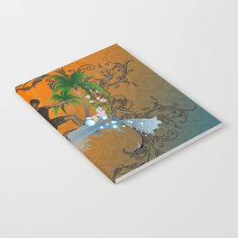 Surfboarder Notebook